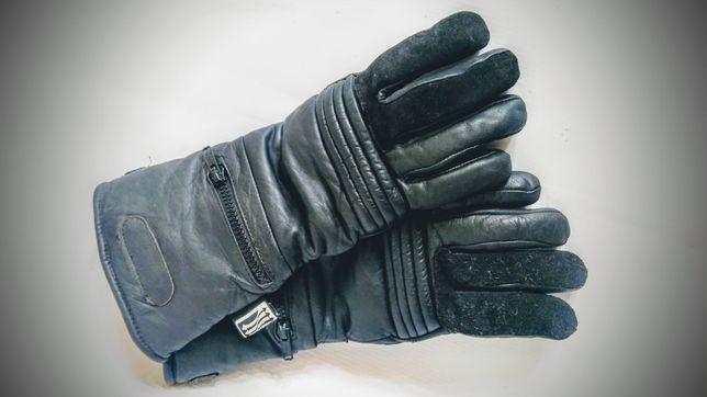 Rękawice skórzane na motur r.S