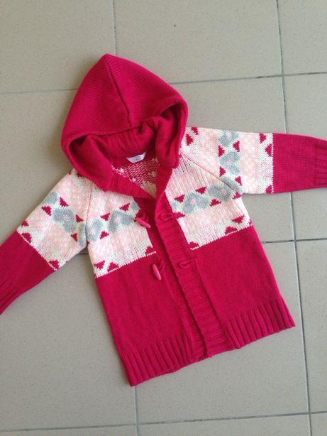 Новий вязаний теплий кардиган свитер на пуговицах next