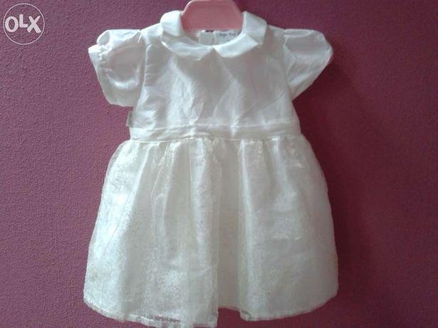 TUP-TUP sukienka do chrztu na chrzest rozmiar 62