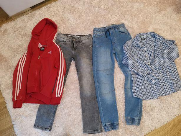 Jeansy chłopięce
