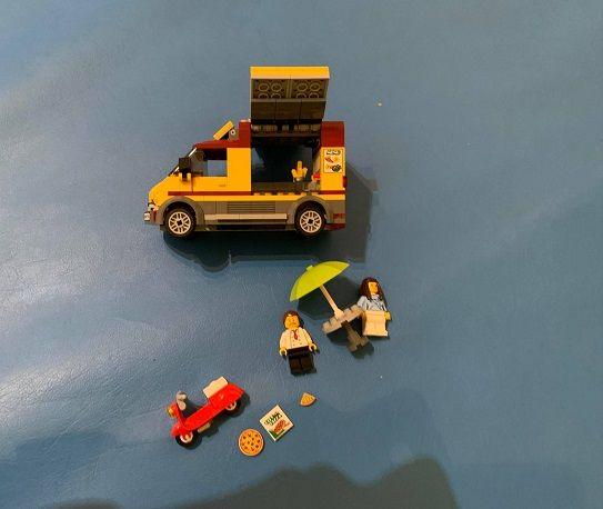Klocki Lego 60150 City Foodtruck z Pizzą