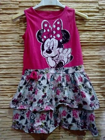 Minnie Mouse sukienka na lato r.98 /104