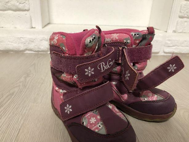 Зимние термо ботинки B G сапоги сапожки