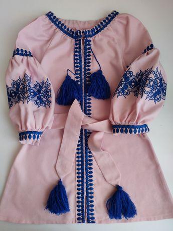 Вишиванка, плаття, 3-6 років