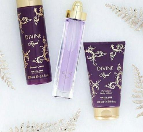 Perfum divine oriflame zestaw