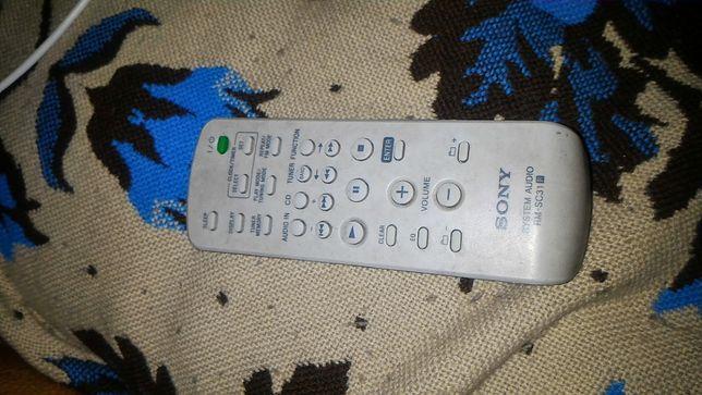 Controlo a distância audio original do sistema de Sony Rm-SC31