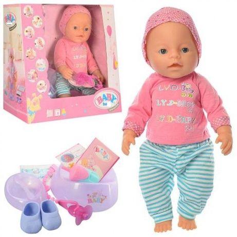 Кукла, лялька,пупс, беби борн baby born купить, 42 см, магнитная соска