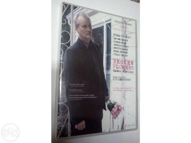 """DVD Original Filme """"Broken Flowers """" - Novo"""