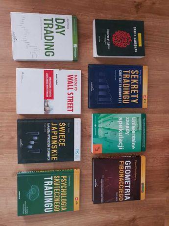 Zbiór książek o tematyce - inwestycja / spekulacja