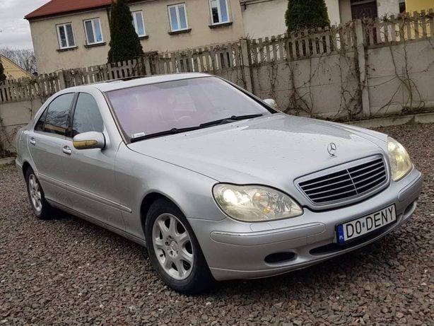 Mercedes  S500 * Long * Full * Gaz * zamiana