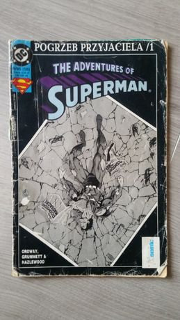 Komiks Superman 9/95 - Pogrzeb przyjaciela