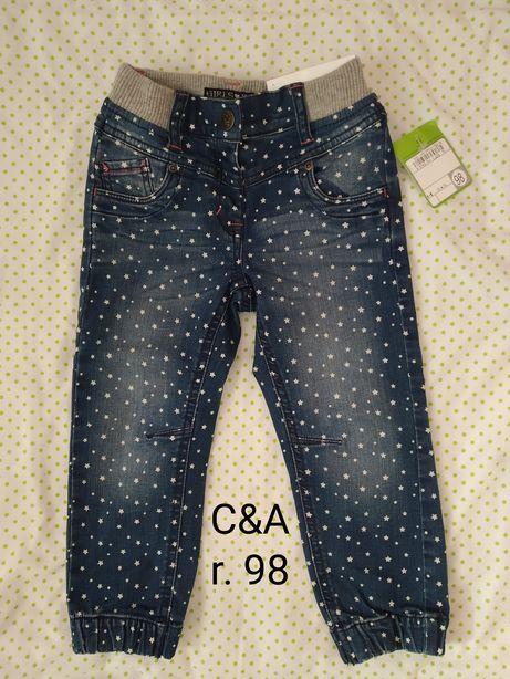 Spodnie C&A   Nowe  r.98