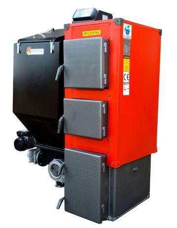 90 m2 moc 14 kW KOCIOL z podajnikiem PIEC na ekogroszek DUO 10 12 13
