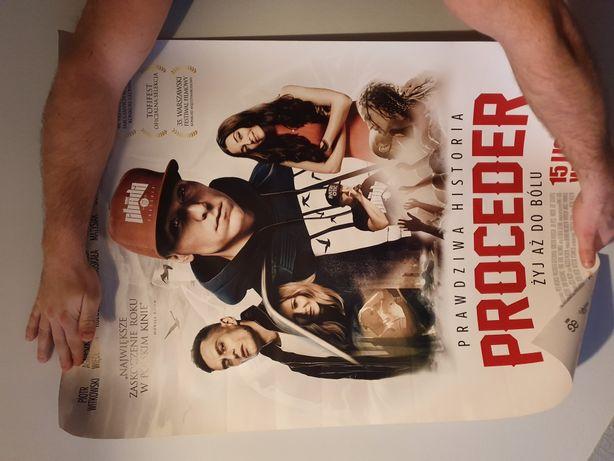Plakat filmowy, Proceder, Chada, WGW, Jesteś legendą,patriotic,p