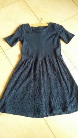 sukienka z koronką Smyk