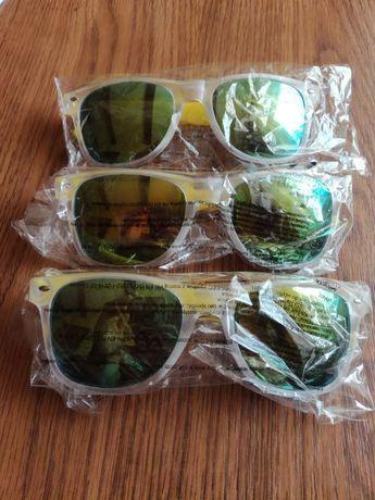 Okulary przeciwsłoneczne z logo rmf fm