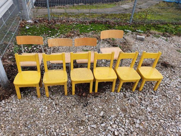 Krzesełko krzesła dziecięce przedszkole maluchy