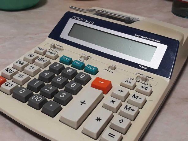 Калькулятор Citizen CX-121 с печатью