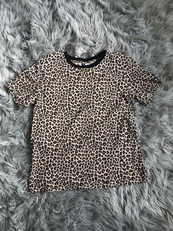 T-shirt bluzka w panterkę