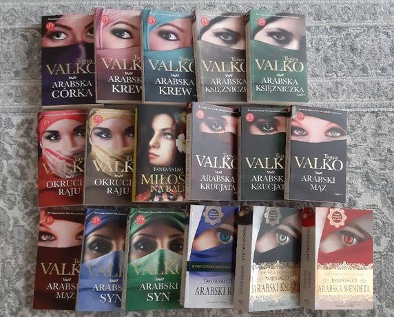 Książki kolekcja - Arabska / Azjatycka saga Tanya Valko