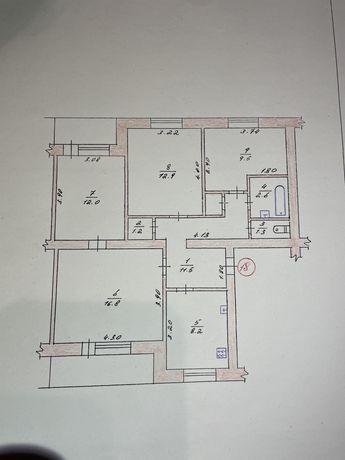 Продам 4-кімнатну квартиру