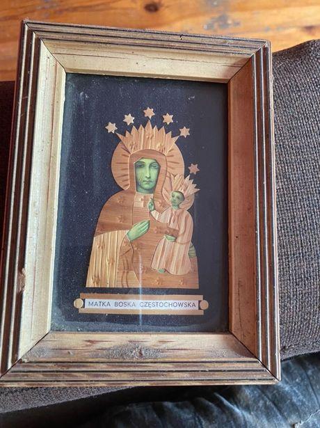 Stary Obraz Matki Boskiej Częstochowskiej