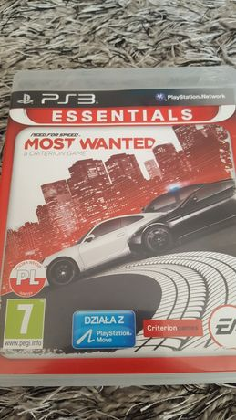 NFS Most wanted pl ps3