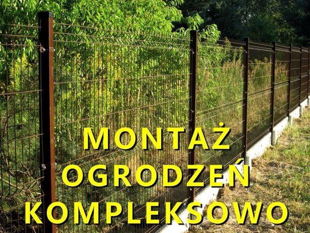 Ogrodzenia panelowe z montażem + podmurówka Łódzkie-Mazowieckie PROMOC