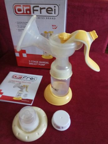 Молокоотсос механический Dr.Frei GM-20 + подарок латакцийны вкладыши