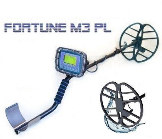 Металлоискатель подводный и сухопутный Фортуна М3 ПЛ глубина до 10м