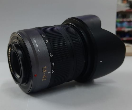Объектив lumix 14-42mm f3.5-5.6 micro 4/3.