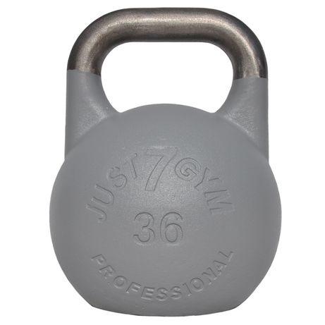 Kettlebell Turniejowy Premium 36 kg Just7gym Obciążnik Giria Kettle