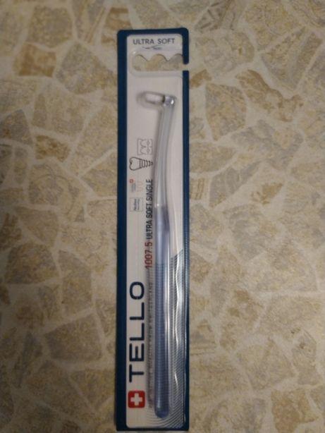 Зубная щетка д/брекет-систем, отдельно стоящих зубов и зубных протезов