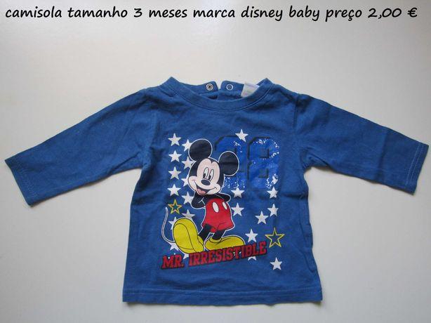 camisolas de primavera e verao para criança de 1 mes a 6 meses