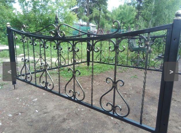 Кованые и сварные оградки