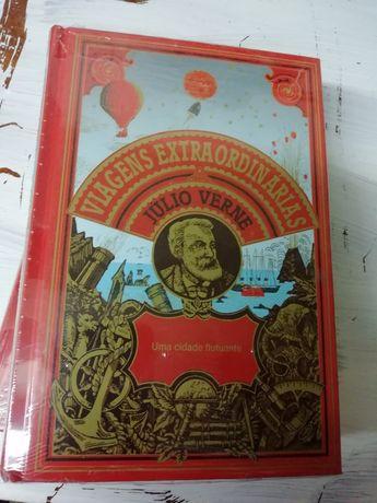 Livro novo Viagens Extraordinárias de Júlio Verne