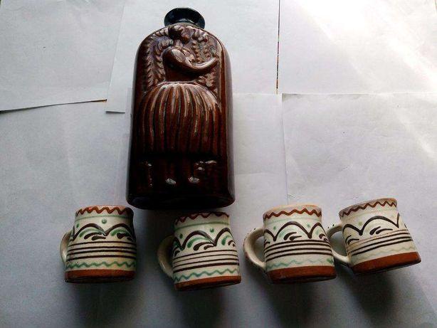 Набор для напитков из керамики СССР