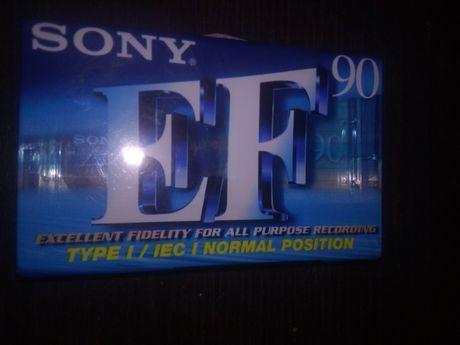 SONY C-90 EFB japońska , kaseta magnetofonowa czysta, NOWA FOLIA