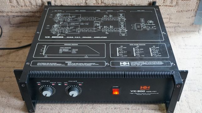 solidna końcówka mocy H/H Electronic VX-950