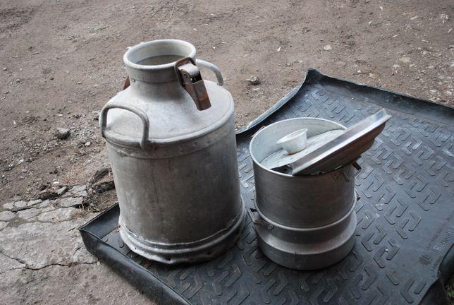 бак молочный алюминиевый целый без крышки,сварочник1800