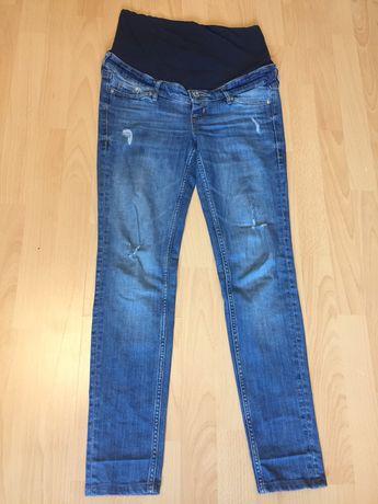 Jeansy ciążowe H&M r. 36