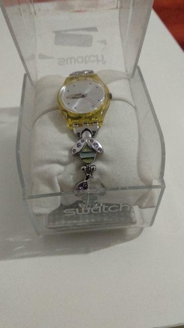 Relógio Swatch Purplelace original