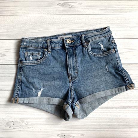 Шорты Zara 11-12 лет XS джинсовые Denim