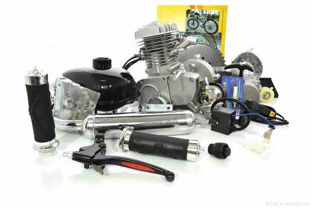 Двигатель Веломотор/Дырчик 80 см3 в сборе