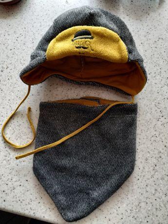 Komplet czapka i szalik 56