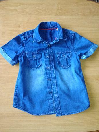 Koszula jeansowa 92/98