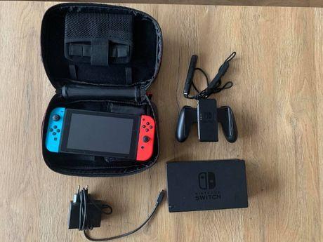 Nintendo Switch v2+ Mario Oddysey+ Animal Crossing+ 100GB