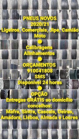 PNEUS NOVOS 2020/21 - Todas as medidas e marcas em Portugal