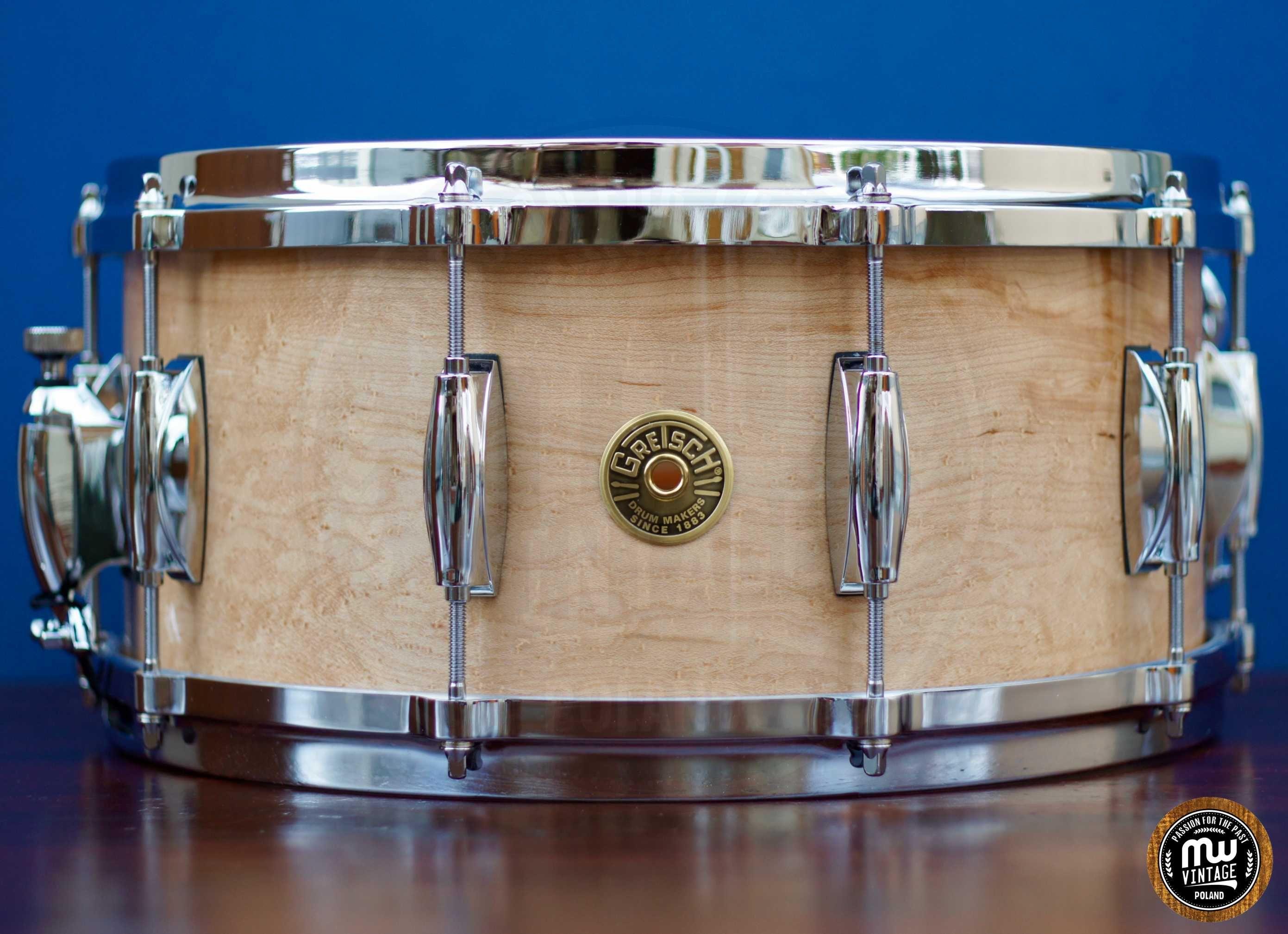 Werbel Gretsch USA Custom Solid Maple 14'' x 6,5''