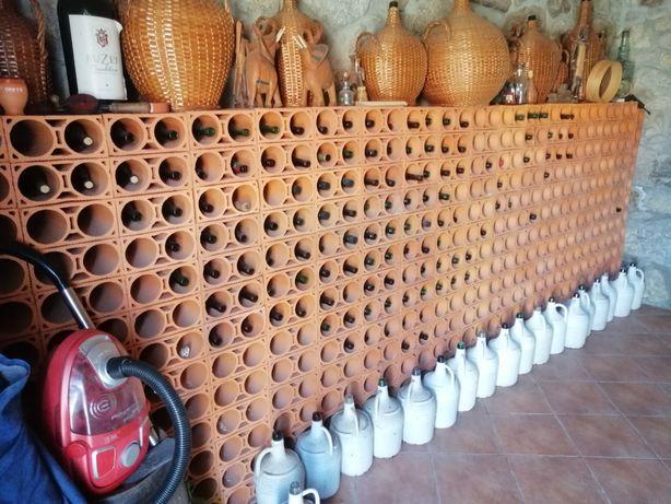 227 Tijolos de garrafeira novos